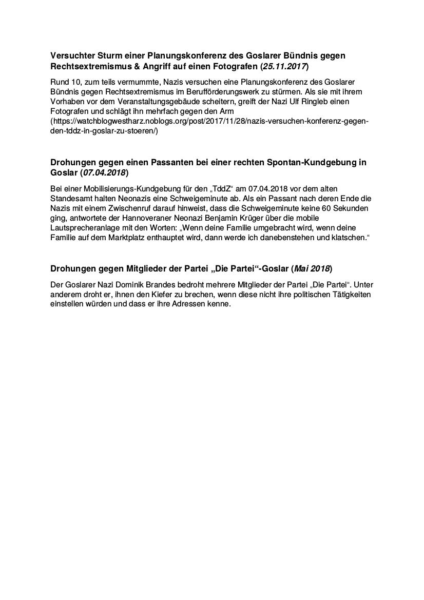 2018 Notddz In Goslar